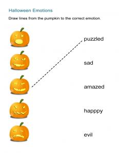 10 Halloween Emotions