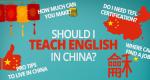 Should I Teach English in China as an ESL Teacher?