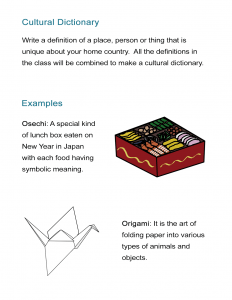 03 Cultural Dictionary