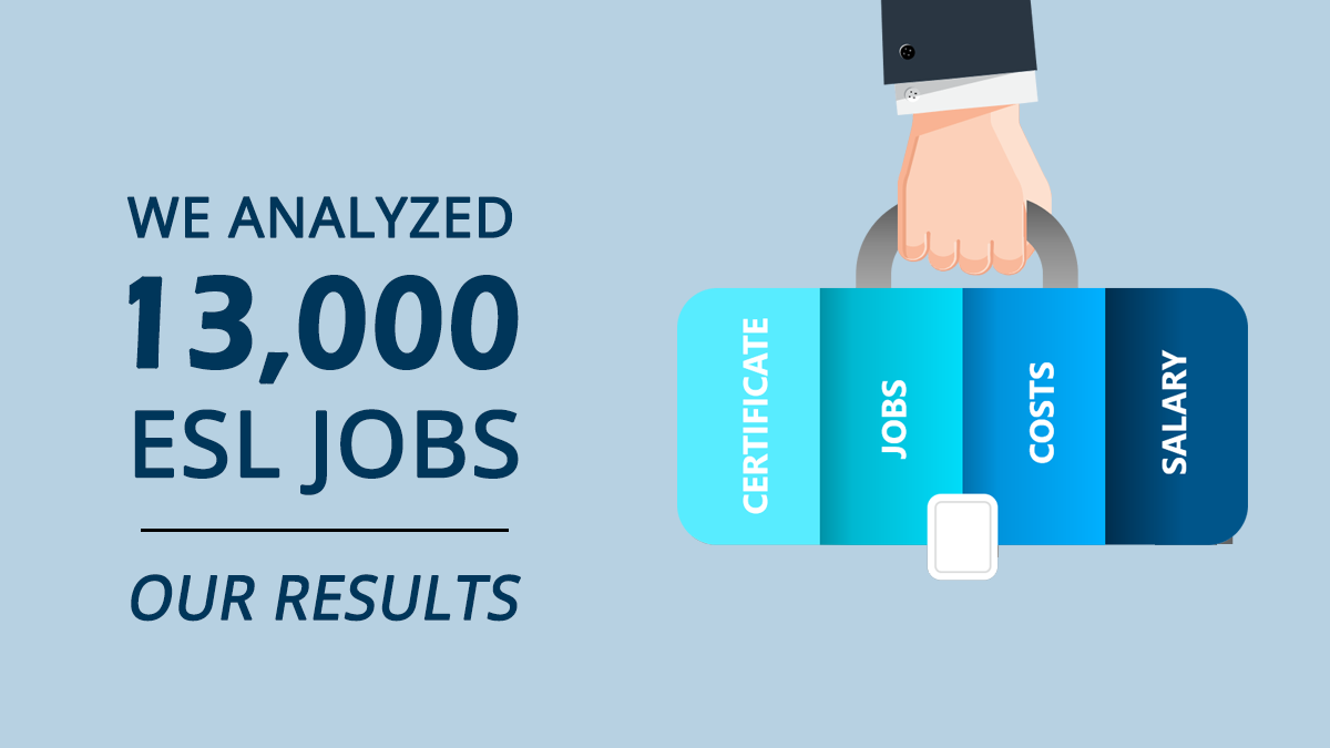 TEFL Jobs Certification Analysis