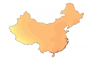 esl heatmap china