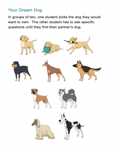 16 Your Dream Dog Worksheet