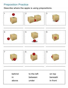 21 Preposition Practice