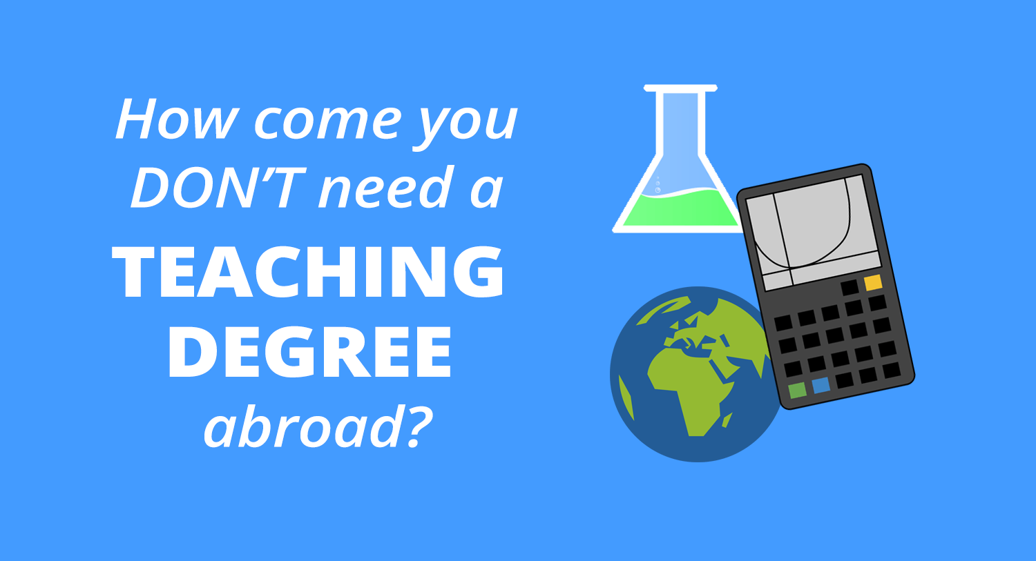 teaching degree abroad