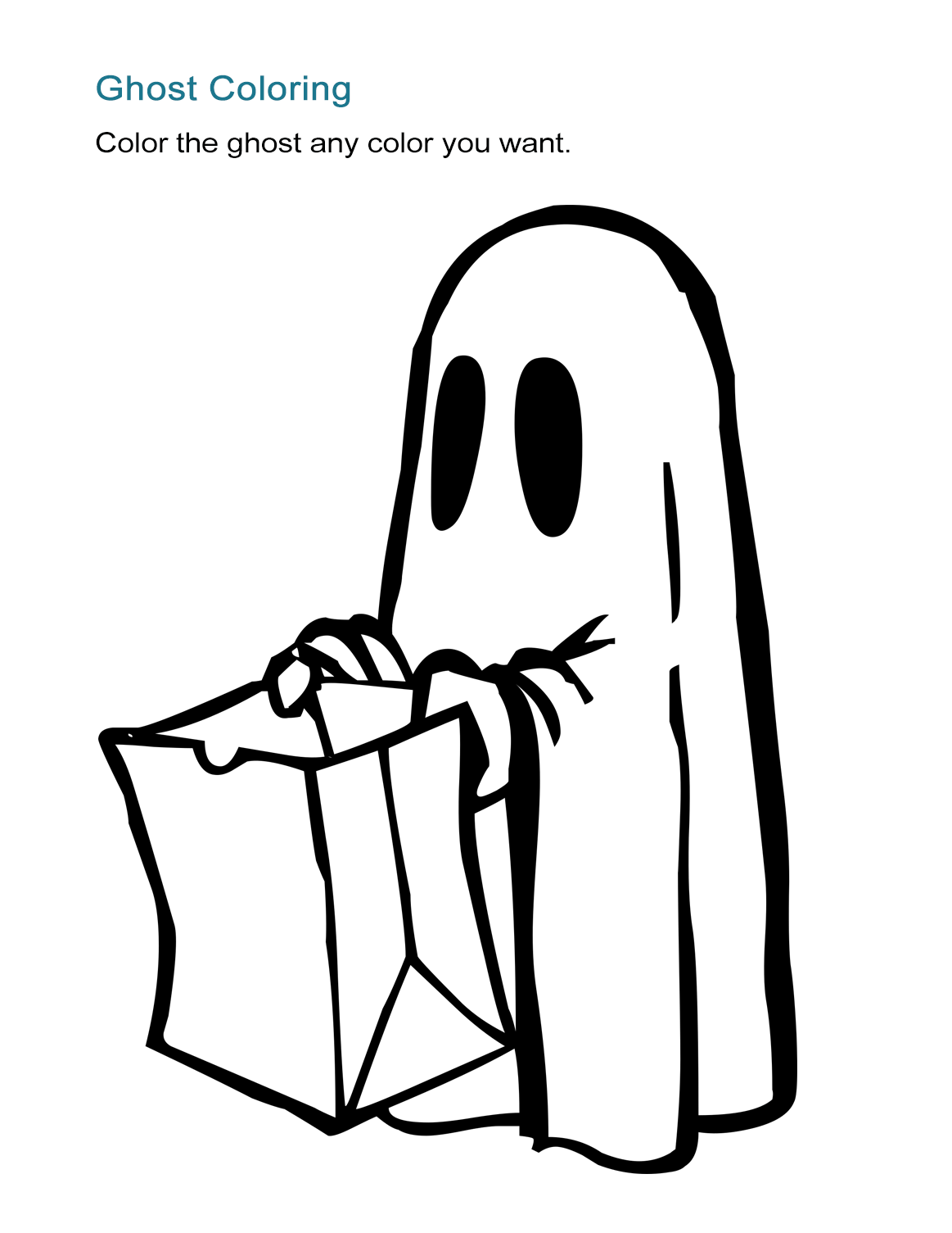 10 halloween coloring sheets: free and print-ready - all esl