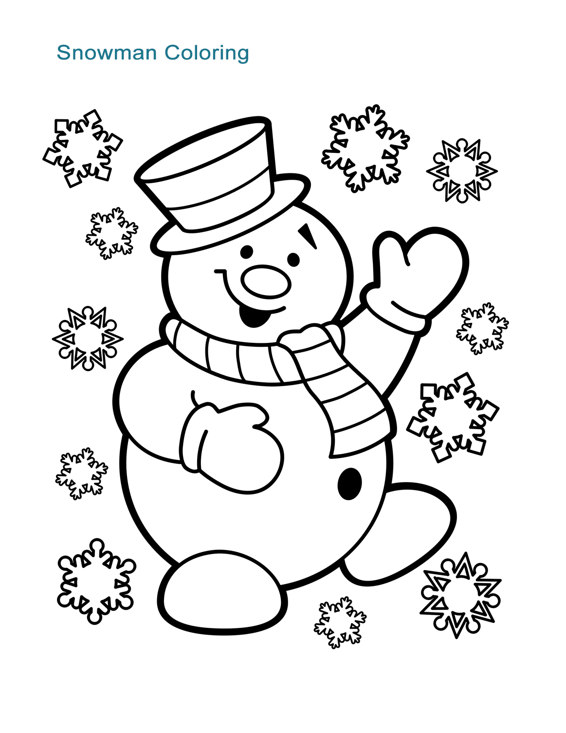 10 Christmas Coloring Worksheets For All Ages - ALL ESL