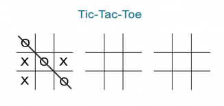 Blank Tic Tac Toe Worksheets