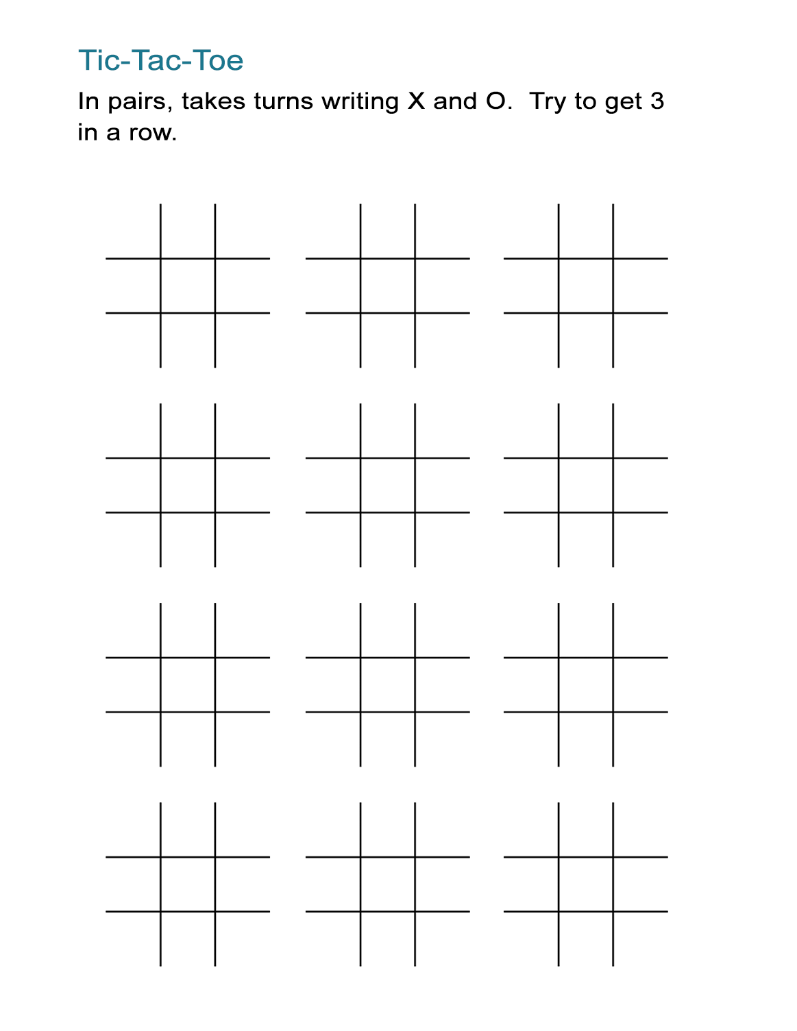 image about Free Printable Tic Tac Toe Board called Printable Tic Tac Toe Sheets: 2-Participant Blank Match Discussion boards