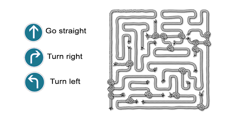 Maze Directions Worksheet Can You Advance Through The Maze All Esl