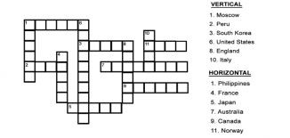 Capital City Crossword Puzzle