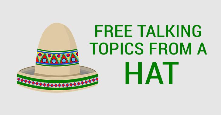Free Talking Topics Worksheet