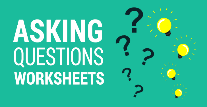 asking questions worksheets