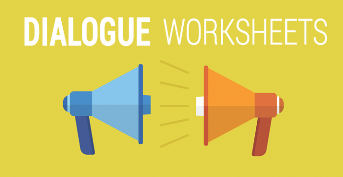 10 Dialogue Worksheets: How to Facilitate Roleplaying