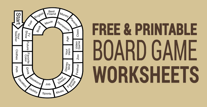 10 Best Free Printable Board Games For Esl Classrooms All Esl