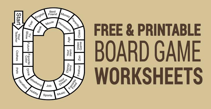 printable board games esl worksheets