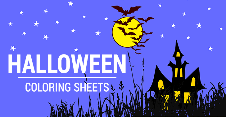 10 Halloween Coloring Sheets: Free and Print-Ready