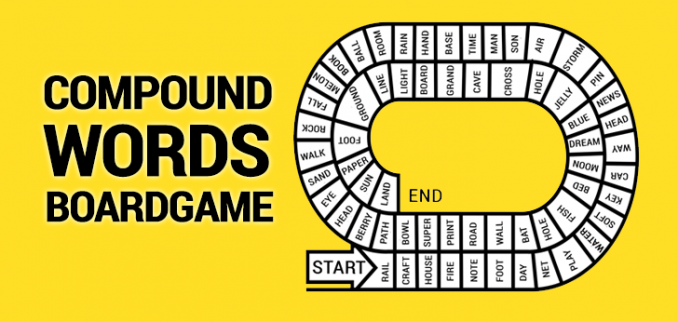 Compound Words Game Board