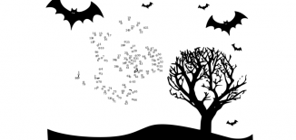 Halloween Connect Dots