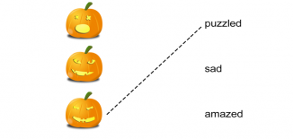 Halloween Pumpkins Emotions