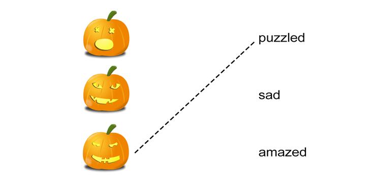 Halloween Pumpkins Emotions