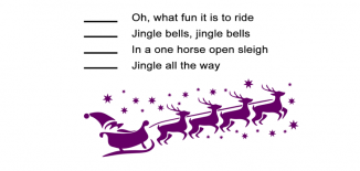 Jingle Bells Song Order