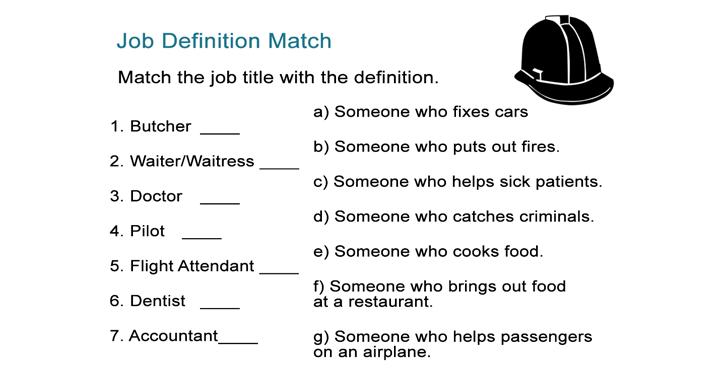 Job Definition Match