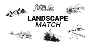 Landscapes Match Quiz