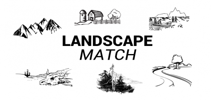 Landscapes Match Quiz