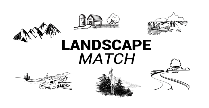 Ecosystems Worksheet: Landscape Matching Quiz