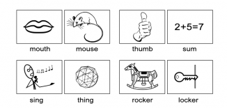 Minimal Pairs Pictures Worksheet