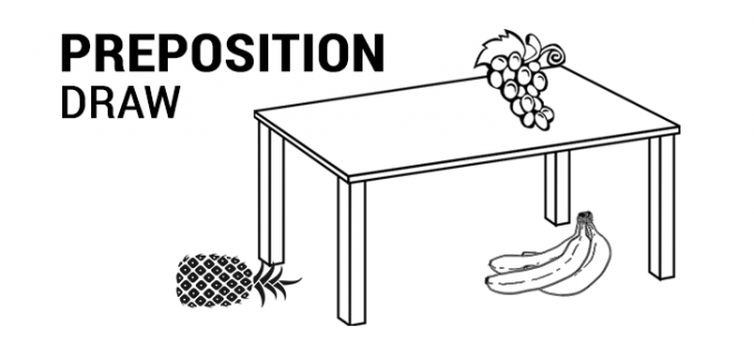 Preposition Drawing