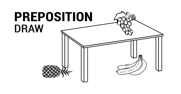 Preposition Game: Draw the Prepositions of Position