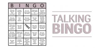 ESL Bingo - Talking Bingo