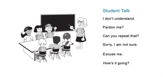 Teacher Talk Student Talk Common Classroom Phrases