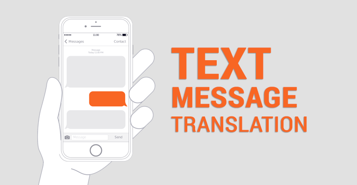 Text Message Translations: Fill in the Blanks