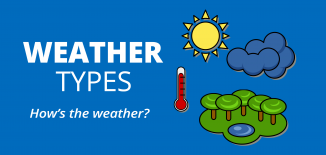 Weather Types For Kids
