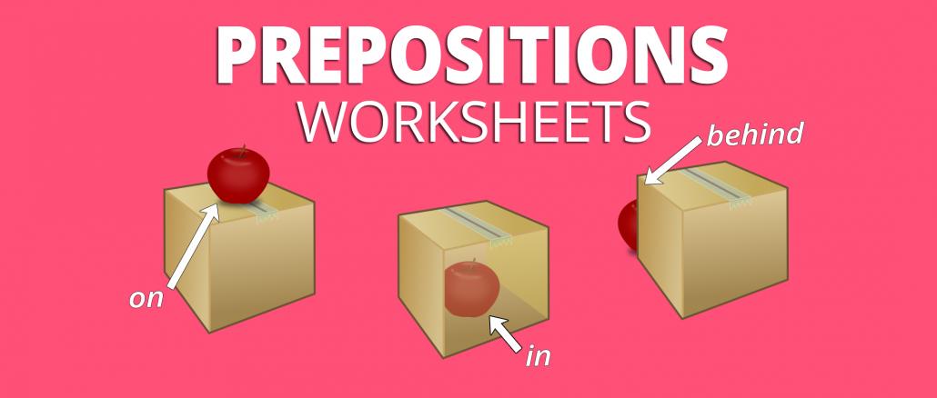 preposition worksheets games