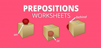 preposition worksheets games