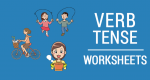 5 Verb Tense Worksheets: Past, Present and Future Conjugation