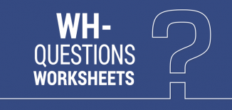 wh- questions worksheets