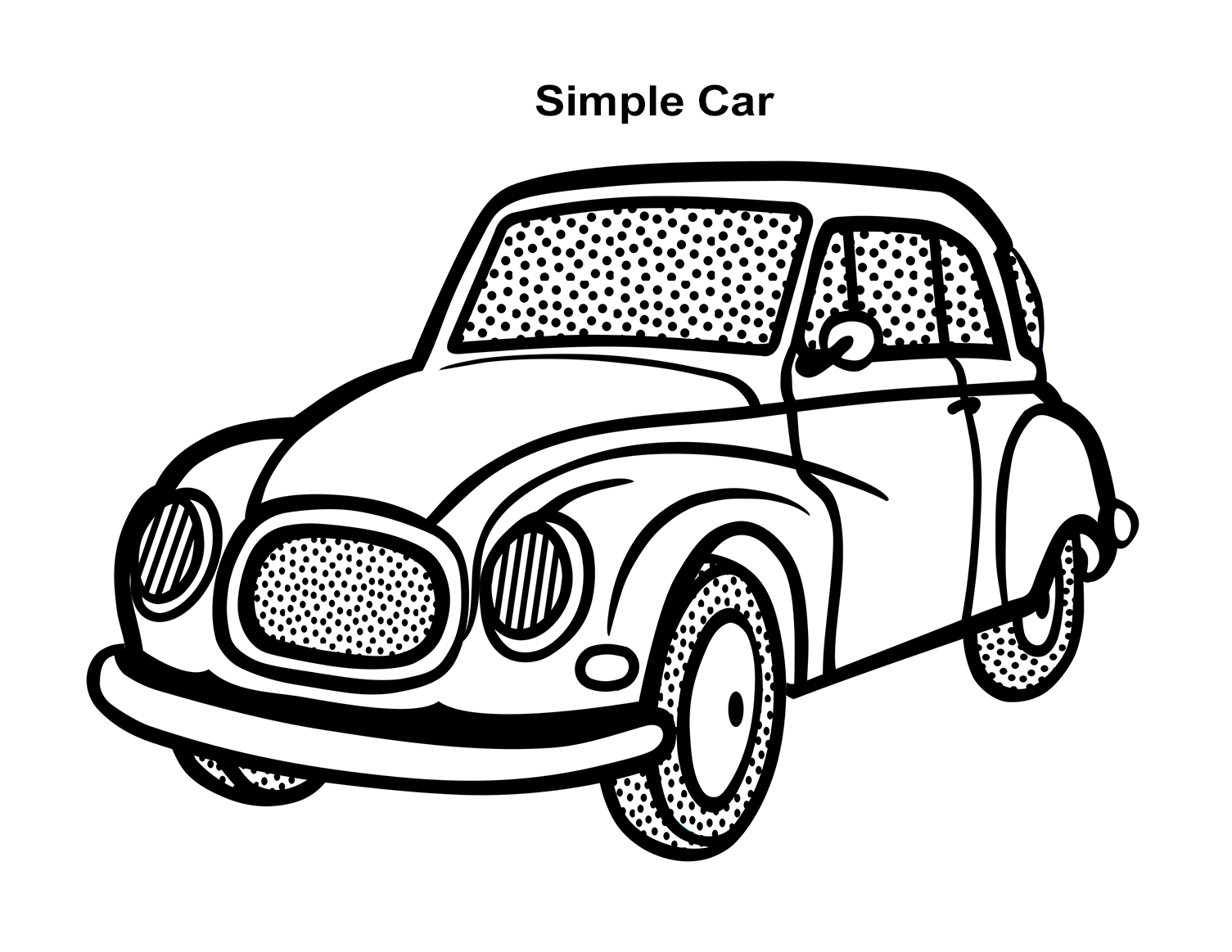 Car Coloring Pages Free Printable Coloring Pages - Cars Coloring Pages | 1163x1505