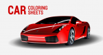 10 Car Coloring Sheets: Sports, Muscle, Racing Cars and More