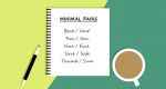 43 Minimal Pairs Examples: List for Pronunciation