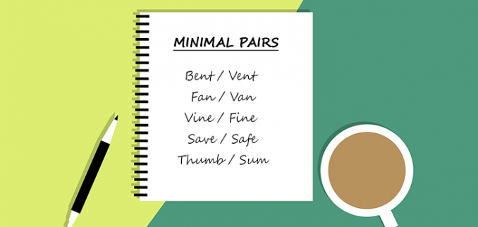 43 Examples of Minimal Pairs: The Big List for English