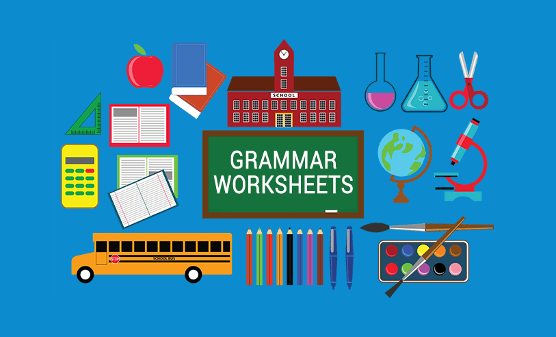 25 Free Grammar Worksheets For Teaching English - ALL ESL
