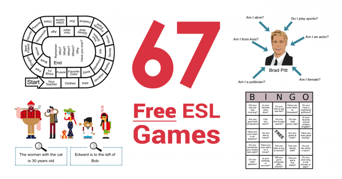 67 Free ESL Games To Teach English Like An All-Star [2020]