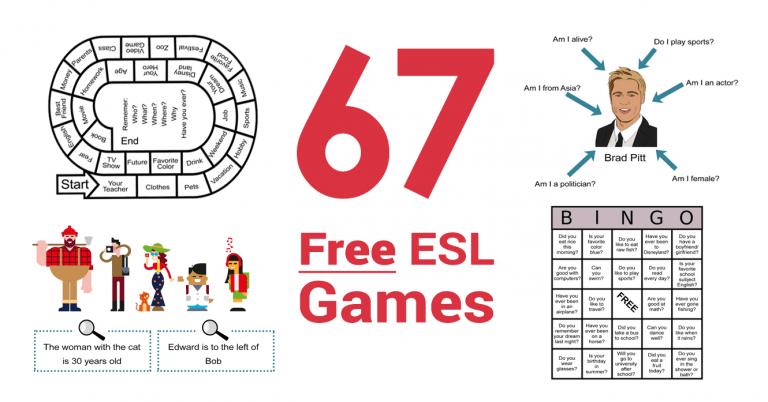 67 Free ESL Games To Teach English Like An All-Star [2021]