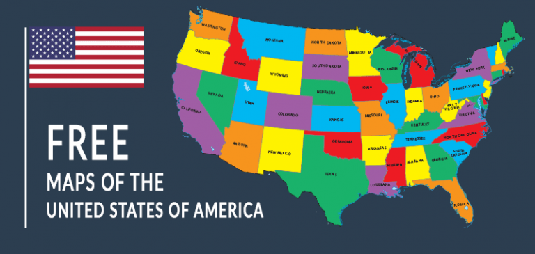 Free US Maps: Geography Resource