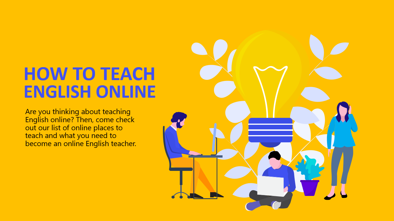How To Teach English Online