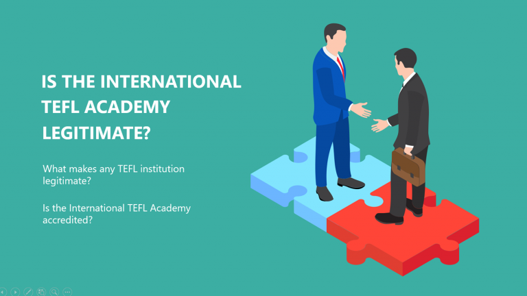 Is the International TEFL Academy Legitimate?